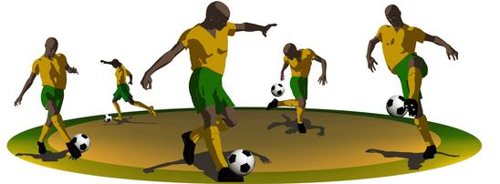 Cara Mengontrol atau Menghentikan Bola Pada Permainan Sepakbola