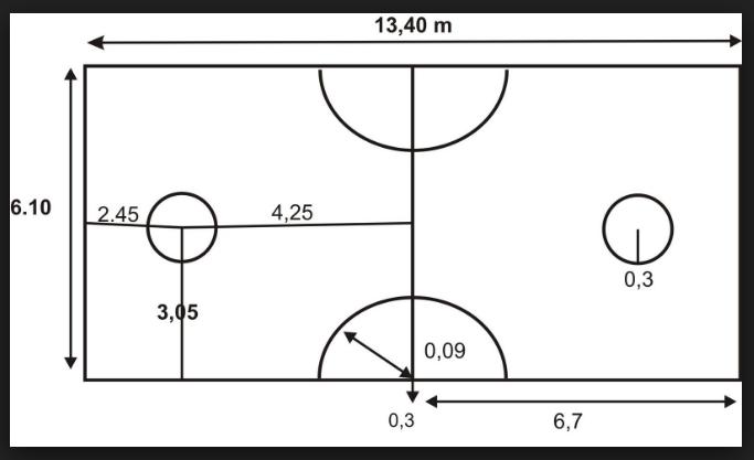 Ukuran Lapangan Sepak Takraw