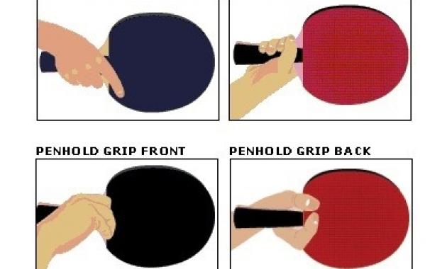 Teknik Dasar Tenis Meja Beserta Gambarnya Lengkap Perpustakaan Id