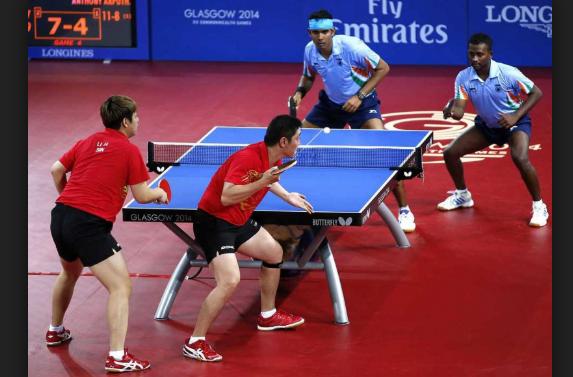 gambar 5 - footwork teknik dasar tenis meja