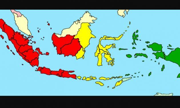 Pembagian Waktu Di Indonesia Zona Waktu Wib Wit Dan Wita Perpustakaan Id