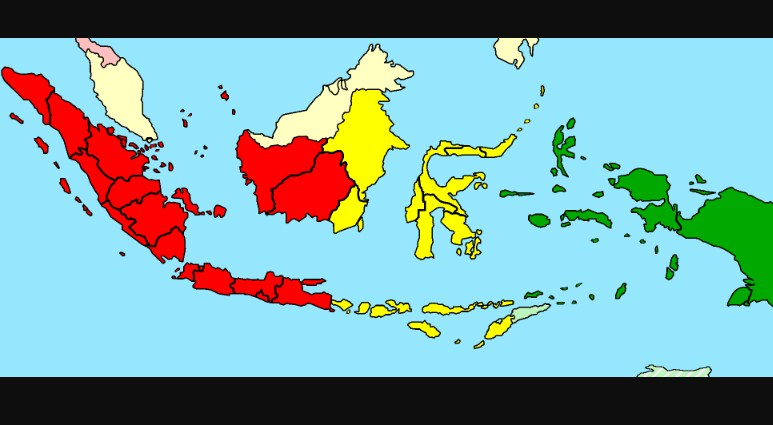 Pembagian wilayah waktu di indonesia