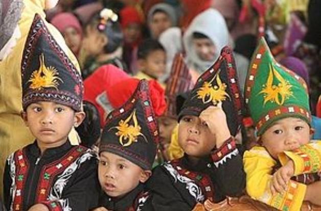 Baju Padat Aceh Anak