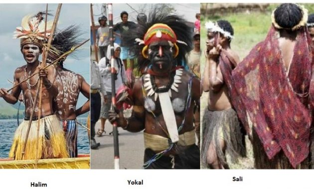 Nama Pakaian Adat Papua