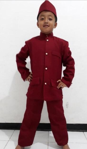 pakaian adat Jakarta anak laki laki