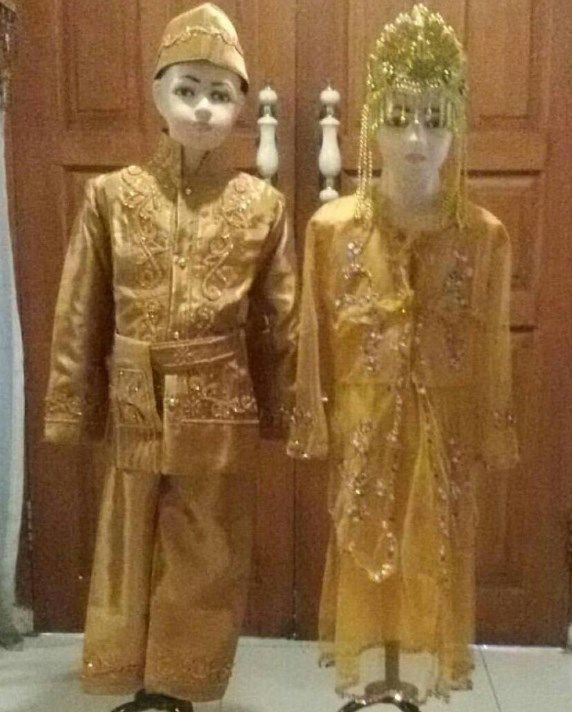 baju adat sunda anak anak