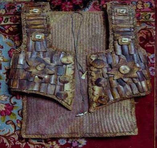 pakaian adat anyaman tikar