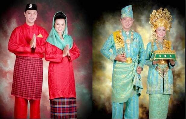 pakaian adat kepulauan Riau melayu