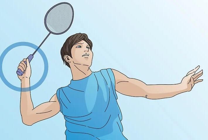 Cara Memegang Raket saat Smash