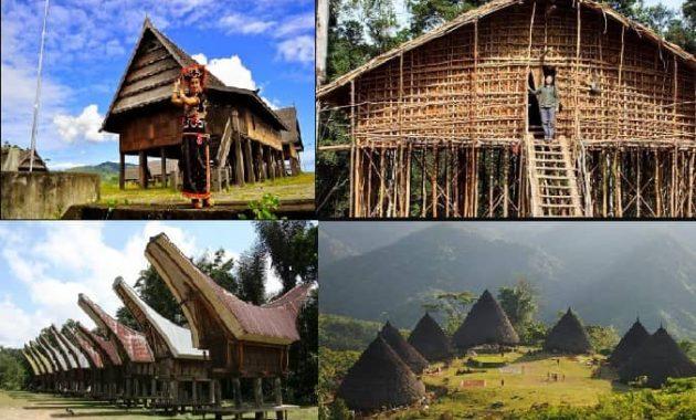 Rumah Adat 34 Provinsi Di Indonesia Gambar Dan Penjelasannya Perpustakaan Id