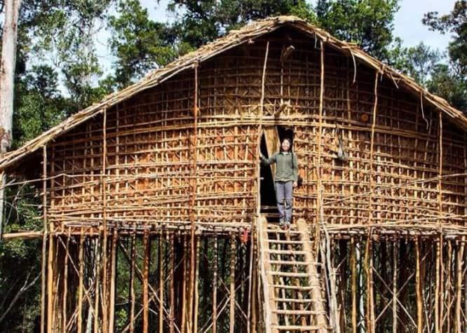 Rumah Adat Papua Barat Mod Aki Aksa