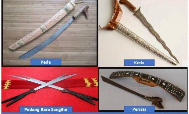 Senjata Tradisional Sulawesi Utara Gambar Dan Penjelasannya Perpustakaan Id
