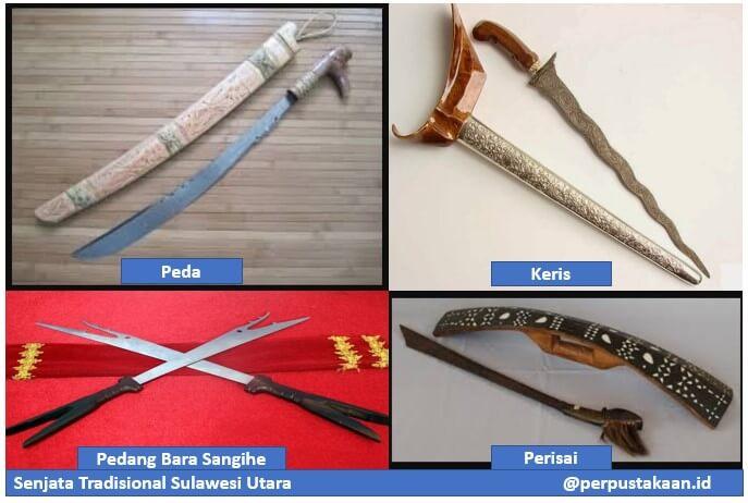 Senjata Tradisional Sulawesi Utara
