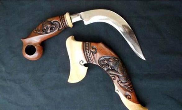Senjata Tradisional Sumatera Selatan skin