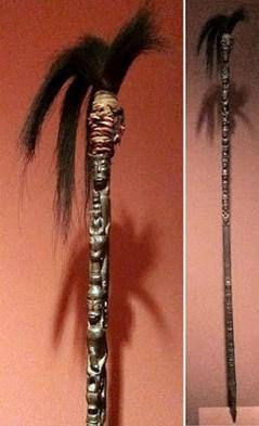 Senjata Tradisional Sumatera Utara tongkat tunggal panaluan