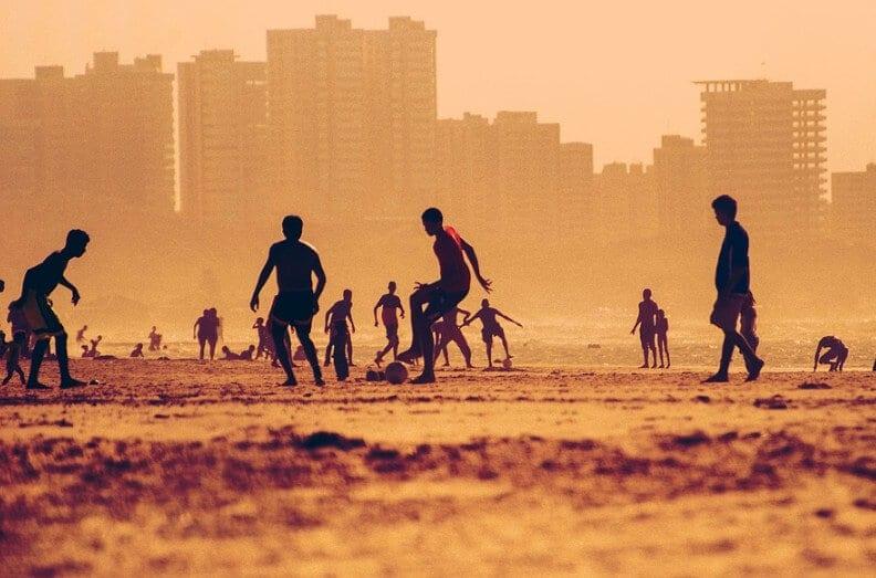 Permainan Sepakbola Pantai