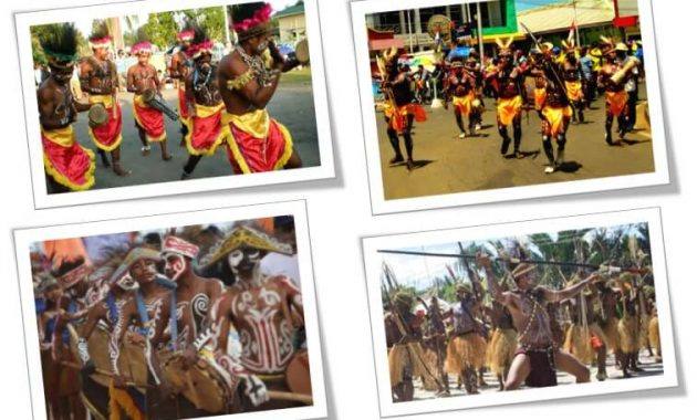 10 Tarian Papua Lengkap Gambar Dan Penjelasannya Perpustakaan Id