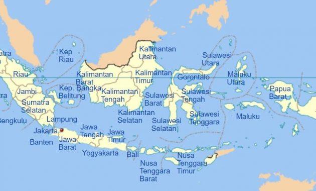 34 Provinsi Di Indonesia Dan Ibukotanya Secara Berurutan Perpustakaan Id