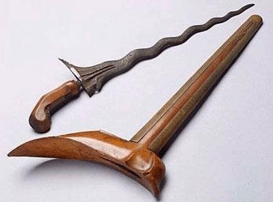 Senjata Tradisional keris Jawa Tengah