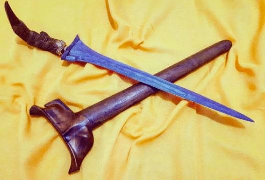 Senjata Tradisional keris Sumatera Selatan