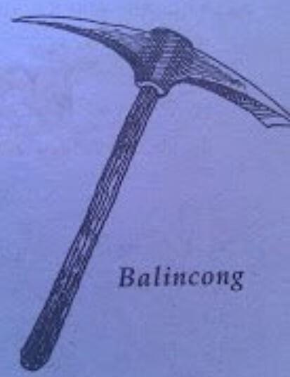 Senjata Tradisional Jaw Barat Balincong